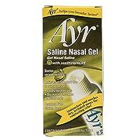 Deals on Ayr Saline Nasal Gel, With Soothing Aloe, 0.5 Ounce Tube