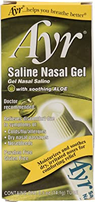 #海淘美亚#凑单佳品 Ayr 含舒缓芦荟的盐水鼻腔缓解凝胶 0.5oz