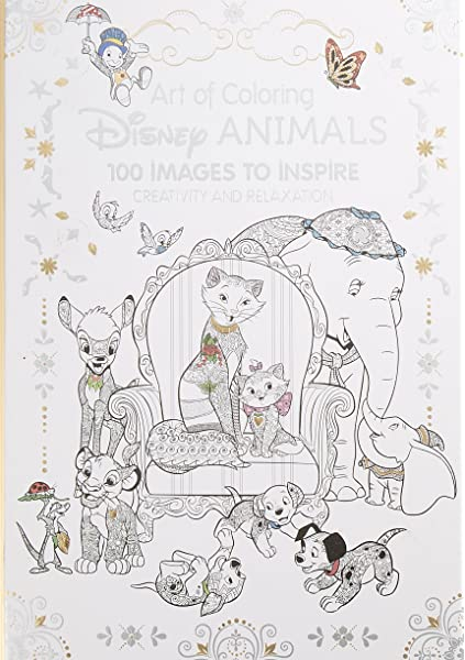 - Amazon.com: Art Of Coloring: Disney Animals: 100 Images To Inspire  Creativity And Relaxation (9781484758397): Disney Book Group, Disney Book  Group: Books