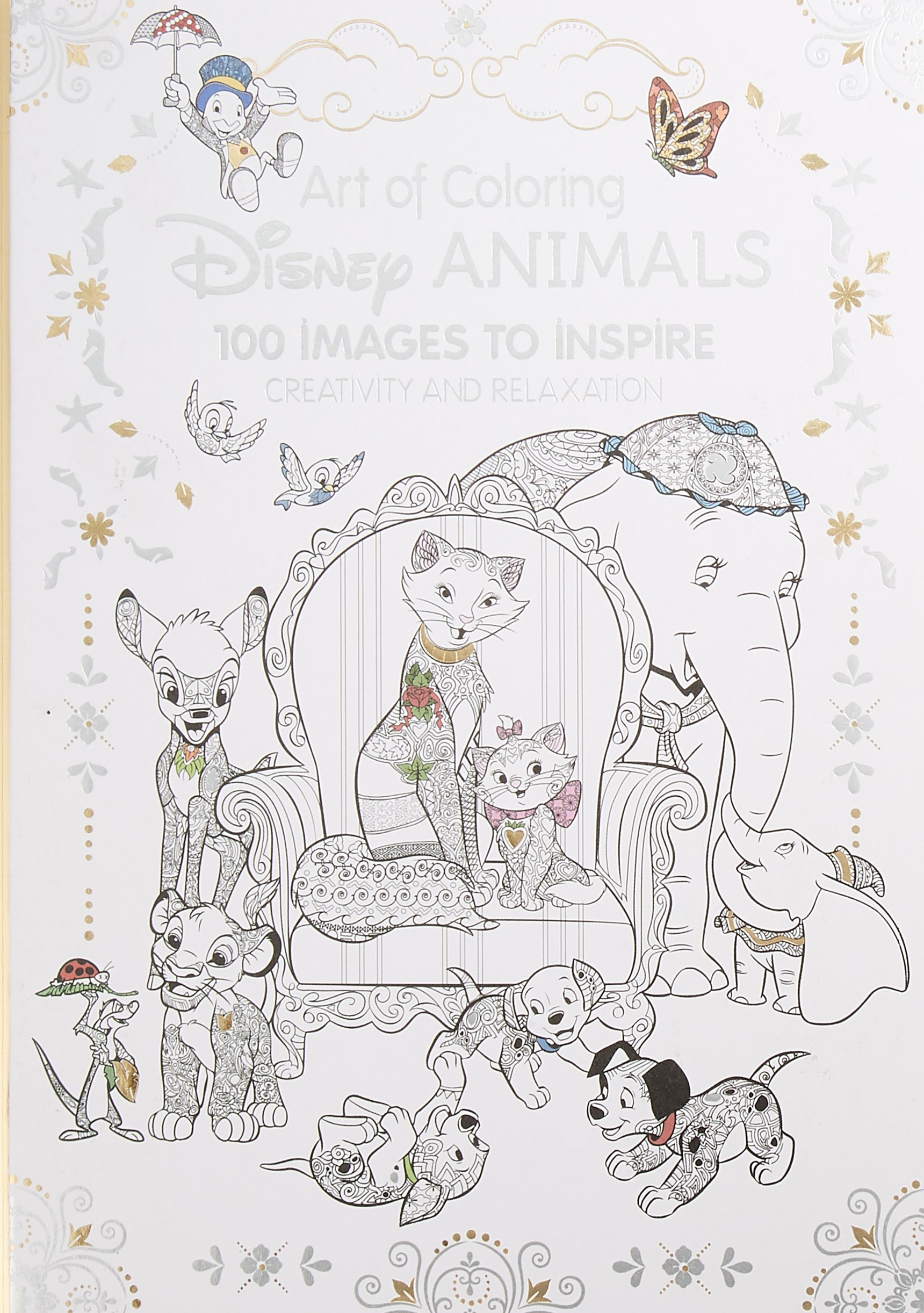 Amazon Com Art Of Coloring Disney Animals 100 Images To Inspire
