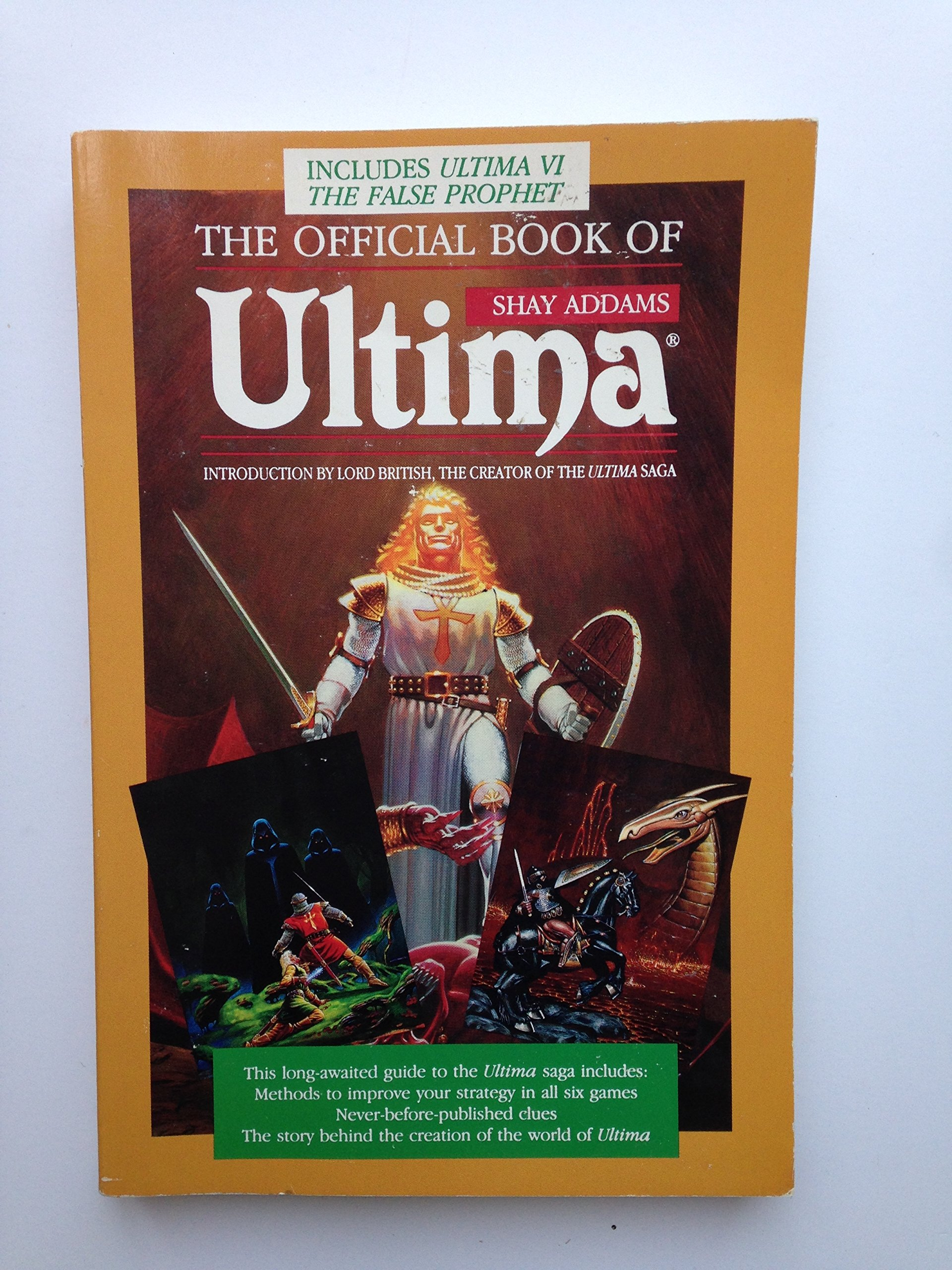 The Official Book Of Ultima: Shay Addams: 9780874552287: Amazon: Books