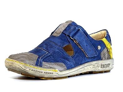 KACPER Slipper, in sportiver Optik, blau, 37 37