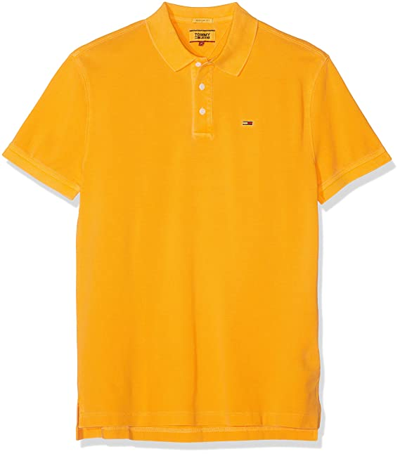 Tommy Hilfiger TJM Essential Garment Dye Polo Hombre: Amazon.es ...