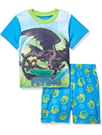 bcda2fd9 DreamWorks How to Train Your Dragon Boys' 2-Piece Pajama Set
