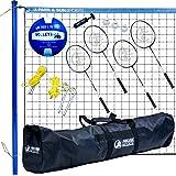 Park & Sun Sports Volley Sport Volleyball/Badminton Combo Set
