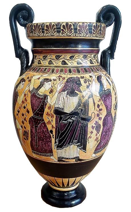Amazon.com: Dionysus Fiesta – Jarrón griego antiguo Ánfora ...