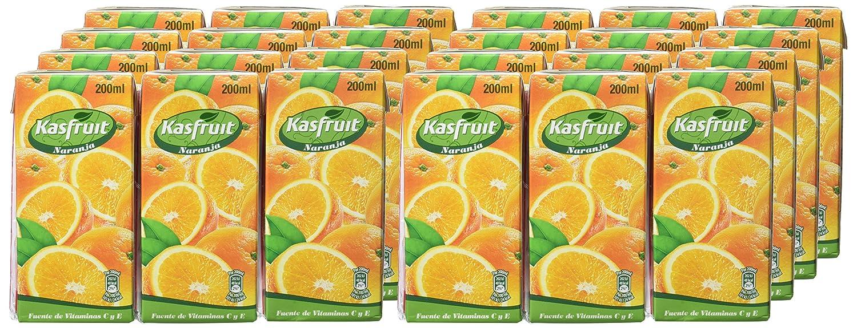 Kasfruit - Refrsco Sabor Naranja - 3 X 200 ml - [Pack de 8]: Amazon.es: Alimentación y bebidas