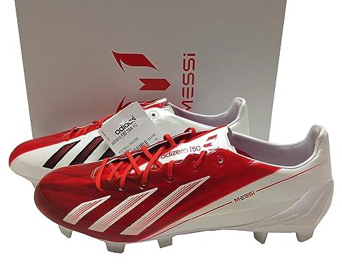adidas F50 Messi TRX FG Blanco Rojo Tamaño 7 Piel Zapatillas de fútbol  Botas de fútbol GAA gaélico Rugby  Amazon.es  Zapatos y complementos 6860f70e3cd41