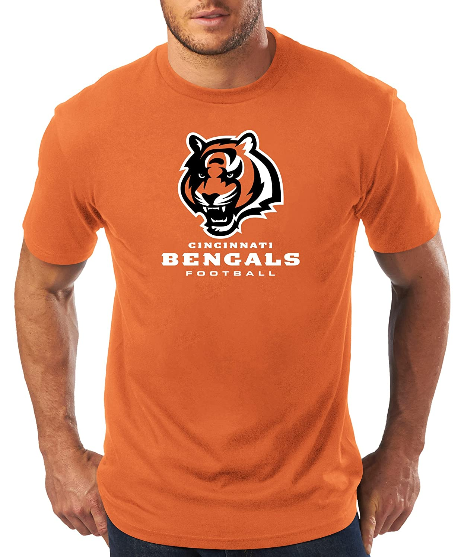 NFL Mens Bengals S//S Team Color TEE