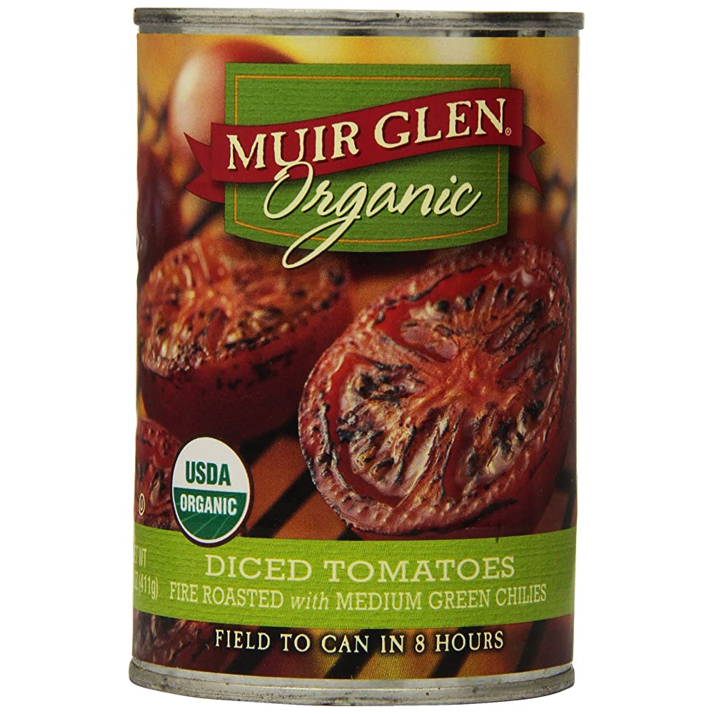 Muir Glen Diced Fire Roasted Tomatoes With Green Chilies Review