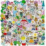200 PCS Cute Stickers Pack, Vinyl Waterproof Stickers for Laptop,Skateboard,Hydro Flask,Water Bottles,Computer,Phone,Guitar,V