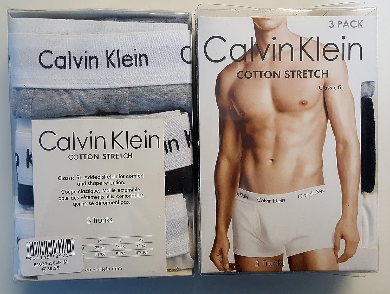 X10 packs of men's boxers Calvin Klein