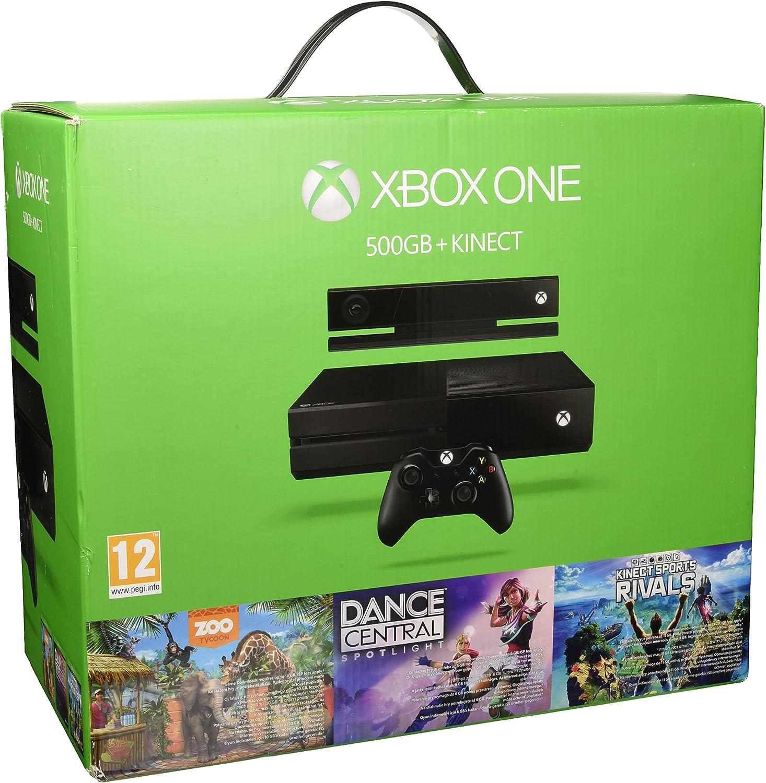 Microsoft Xbox One 500GB + Kinect + Dance Central Spotlight + ...