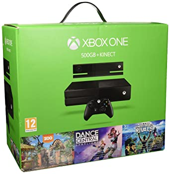 Microsoft Xbox One 500GB + Kinect + Dance Central Spotlight + Kinect Sports Rivals + ZOO
