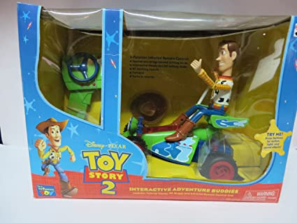 Amazon Com Toy Story 2 Interactive Adventure Buddies Toys Games