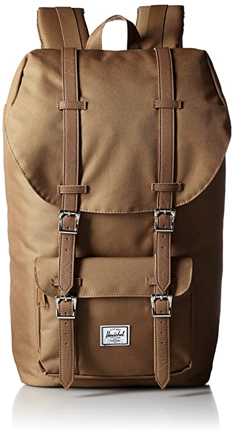 69b1f58e7fb Herschel Supply Co. Little America Backpack, 1-Piece, Caramel/Tan Synthetic  Leather, One Size: Amazon.ca: Luggage & Bags