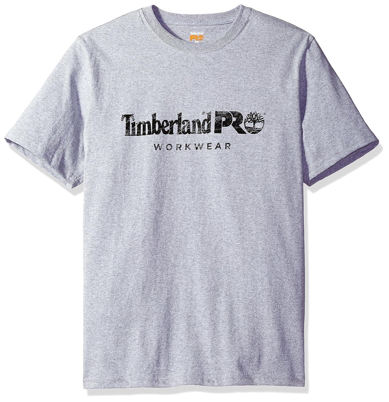 Timberland Mens Cotton Core Short-Sleeve T-Shirt Timberland PRO Apparel TB0A1HOQ