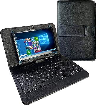 Pantalla táctil capacitiva para Raspberry Pi, 7 pulgadas, 1024 × 600 HDMI, pantalla táctil portátil, con teclado USB, piel para Raspberry Pi ...