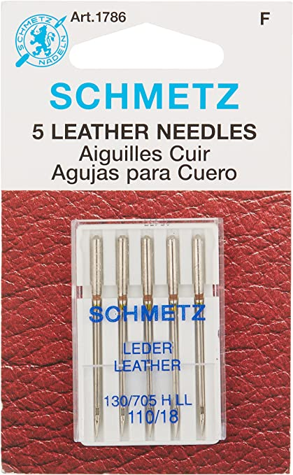 Schmetz Universal Sewing Machine Needles Regular Point Size 110//18-5 Pk