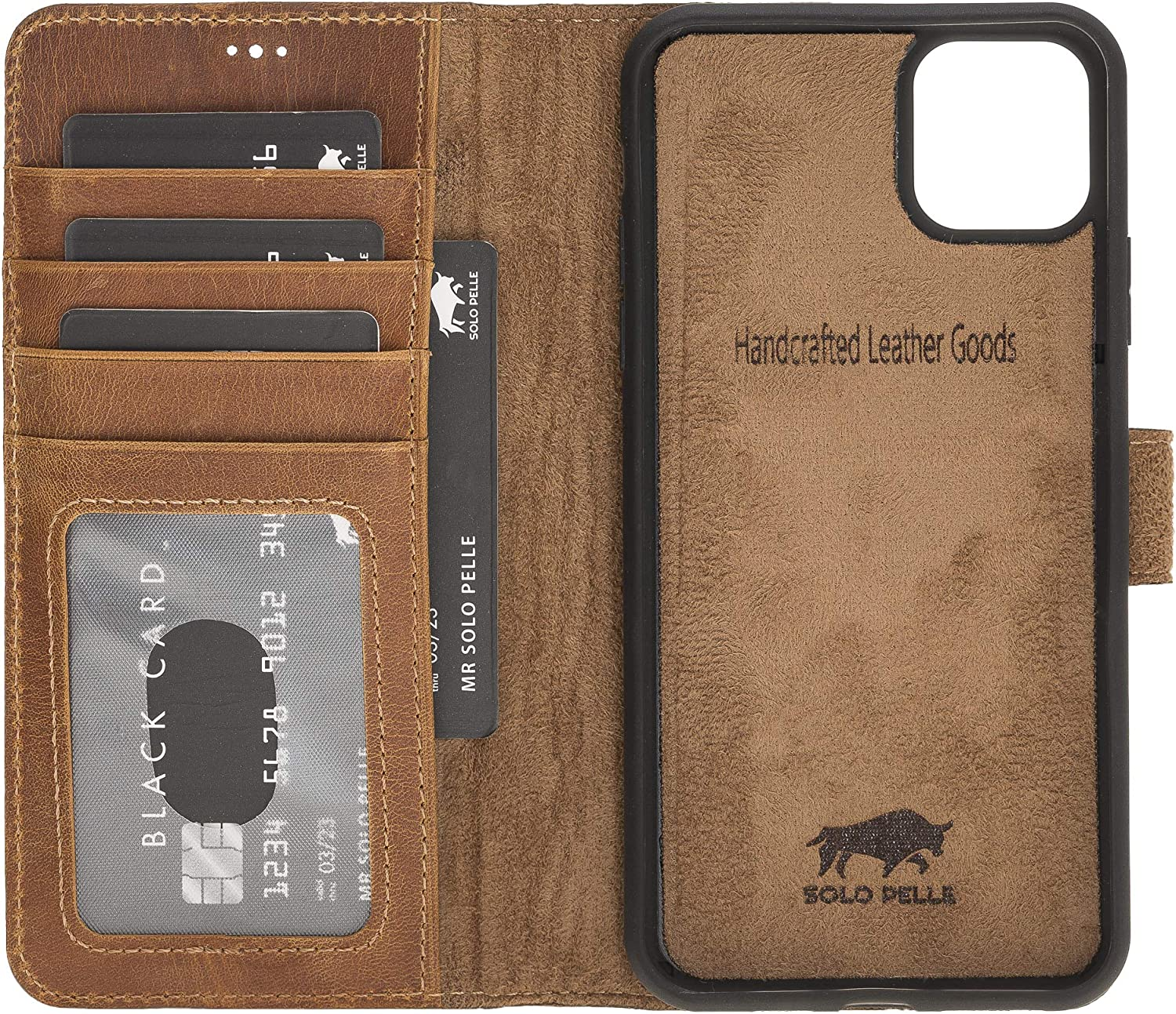 Solo Pelle Leather Case Compatible With Iphone 11 Pro Elektronik