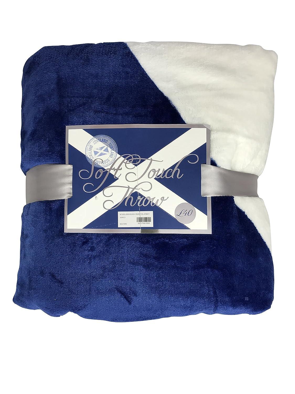 Schottland schottischen Soft Touch Print Überwurf Decke 3 Designs ...