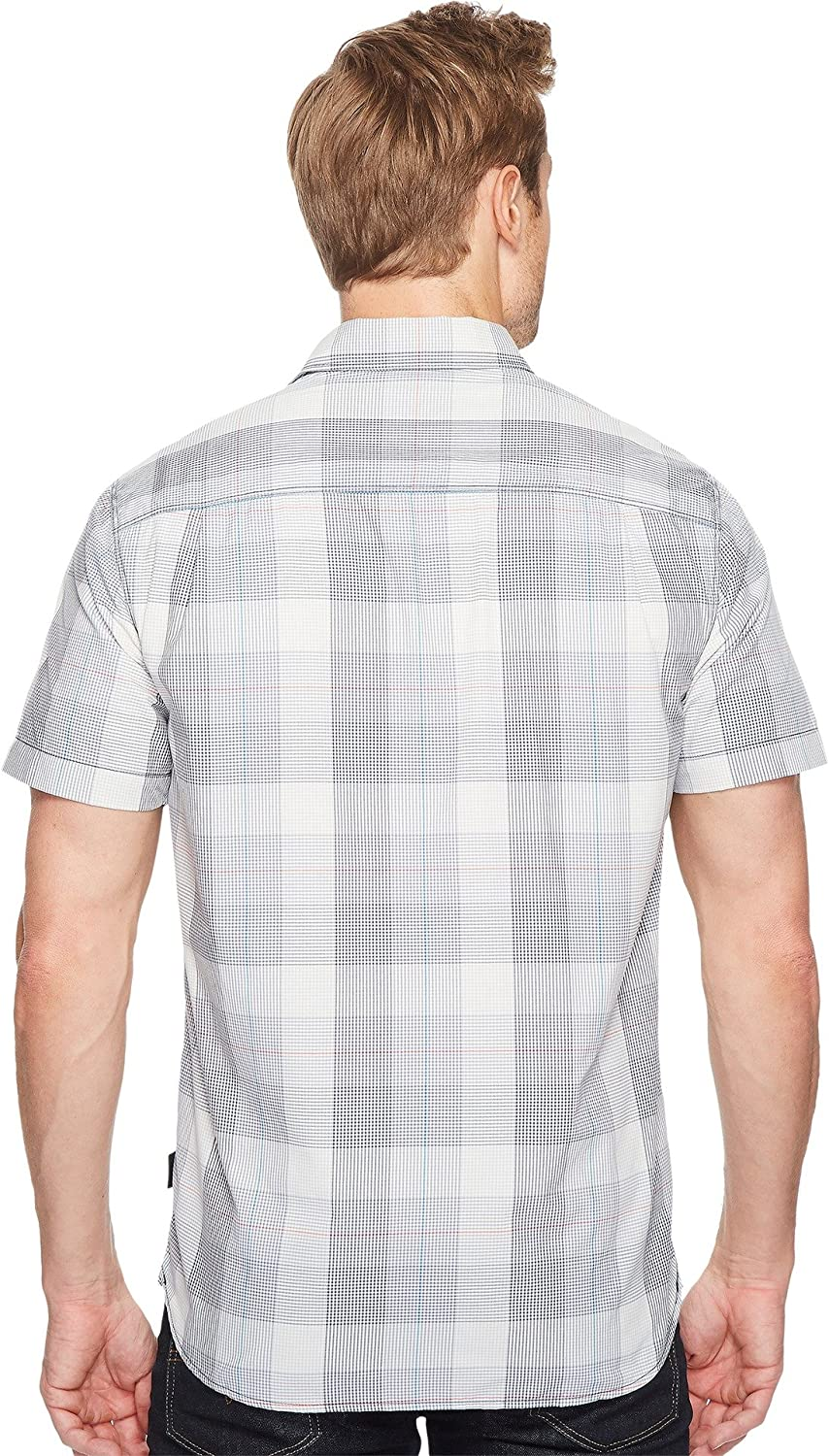 8cf990d6e The North Face Men's Short Sleeve Expedition Shirt Urban Navy Plaid ...