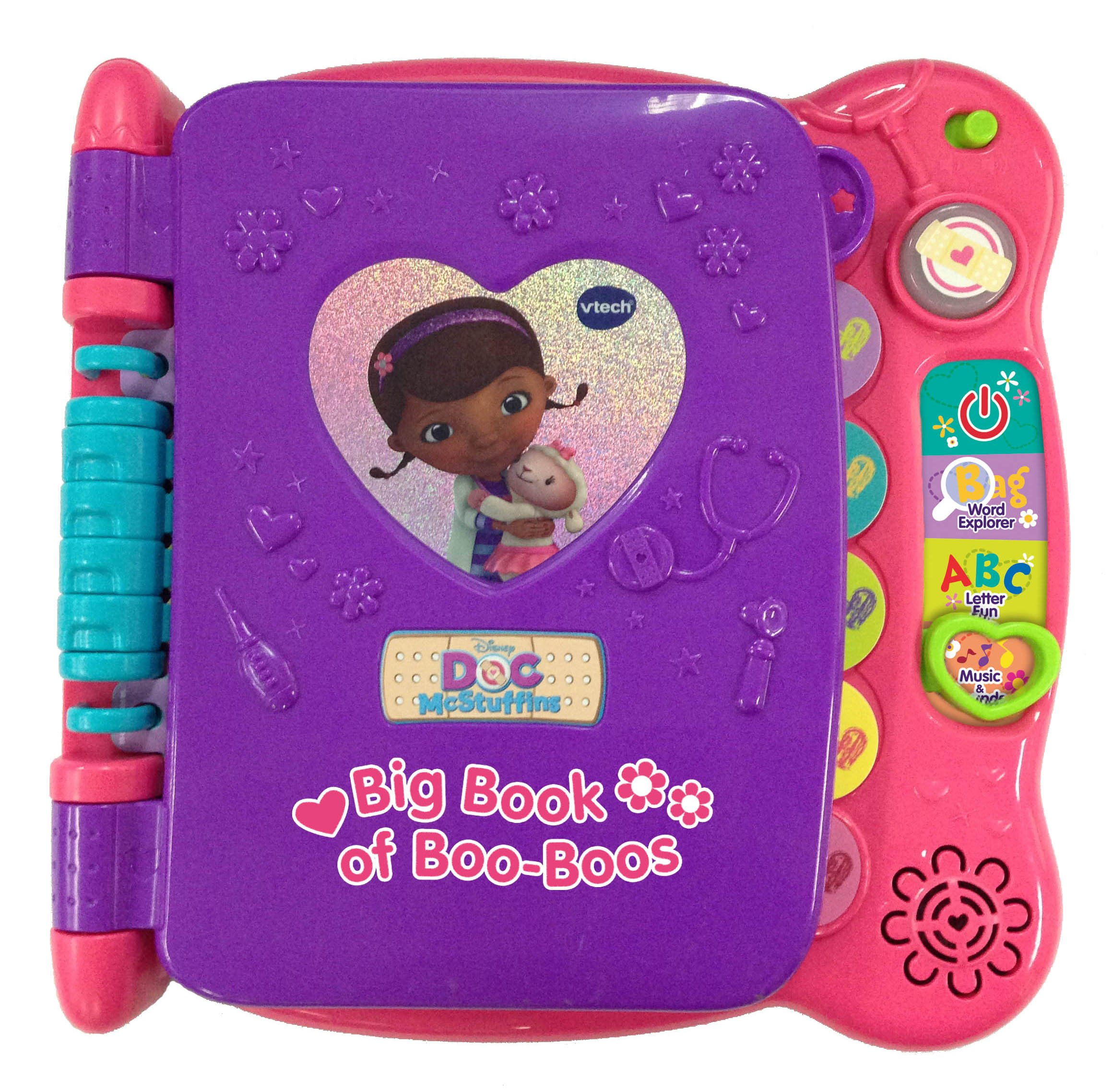 VTech Disney Doc McStuffins Discover and Learn Big Book of Boo-Boos by VTech (Image #1)