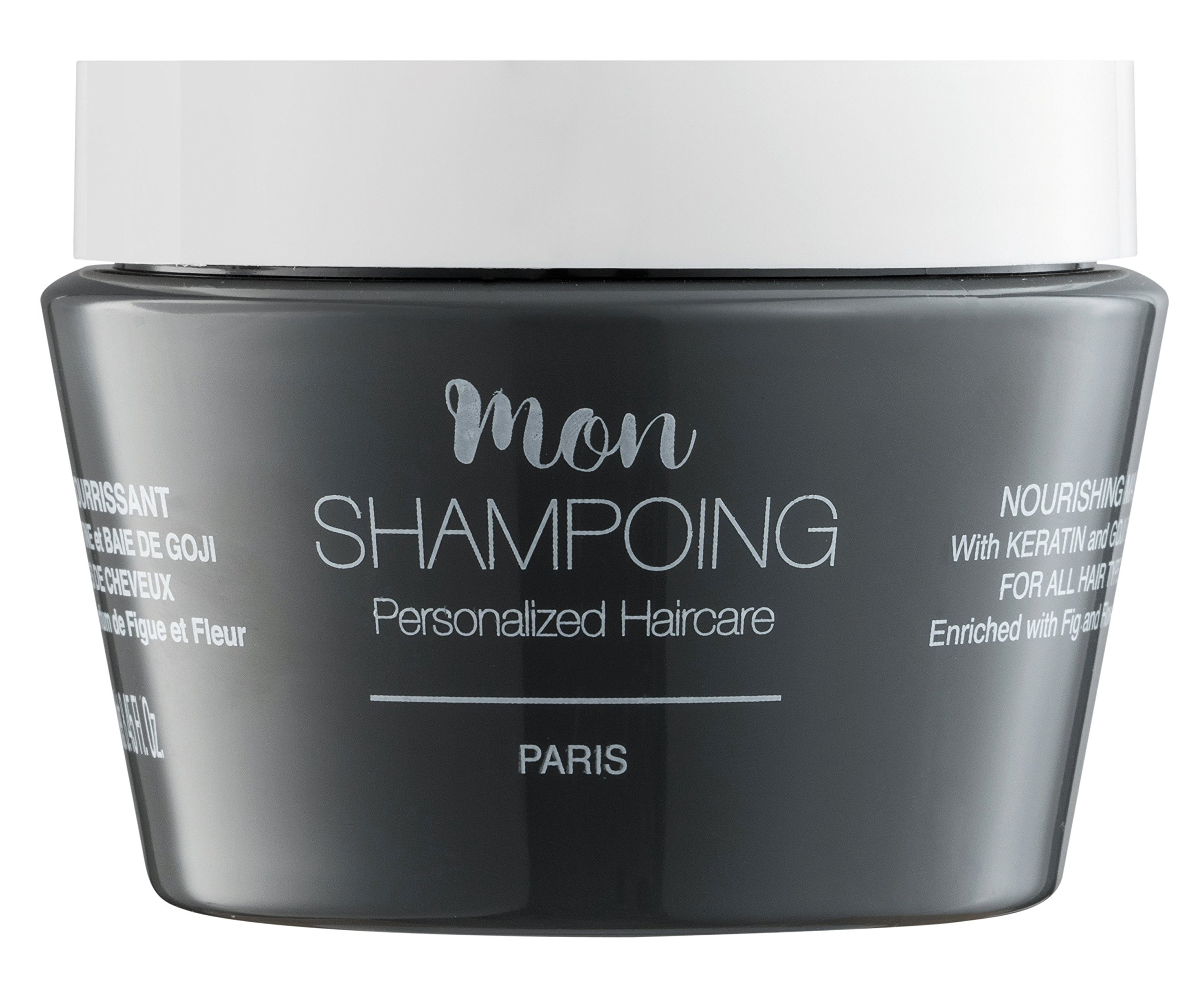Mon Shampoing nourishing MASK with KERATIN and GOJI BERRY – ALL HAIR TYPES – 250 ml by Mon Shampoing (Image #4)