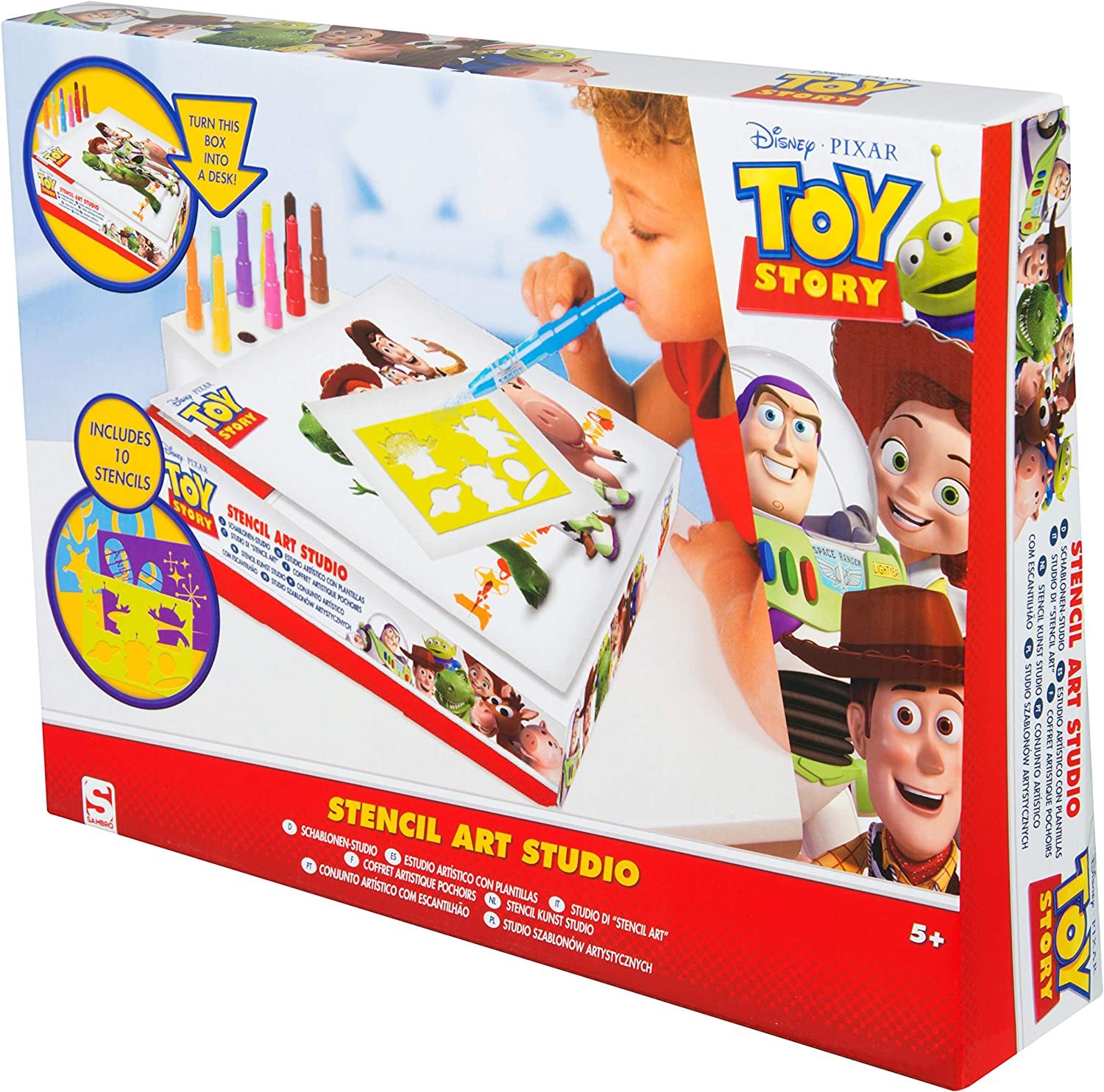Large A4 Kids Children/'s Toy Story 4 Colouring Set Colouring Play Pack Set Fun