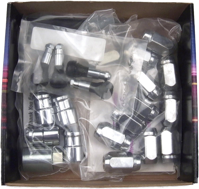 McGard 84457 Chrome Cone Seat Wheel Installation Kit (M12 x 1.5 Thread Size) - for 4 Lug Wheels