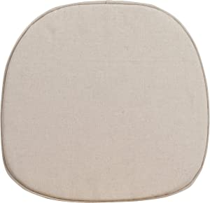 Flash Furniture Cross Back Barstool Cushion table, 1 Pack, brown