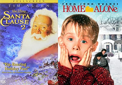 home alone christmas classic dvd santa clause 2 holiday collection double feature bundle movie set - Home Alone Christmas Movie