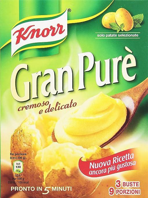 18 opinioni per Knorr- Preparato per Pure' di Patate, Cremoso e Delicato- 225 g