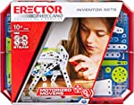 MECCANO Erector, Set 5, Motorized Movers S.T.E.A.M. Building Kit with Animatronics