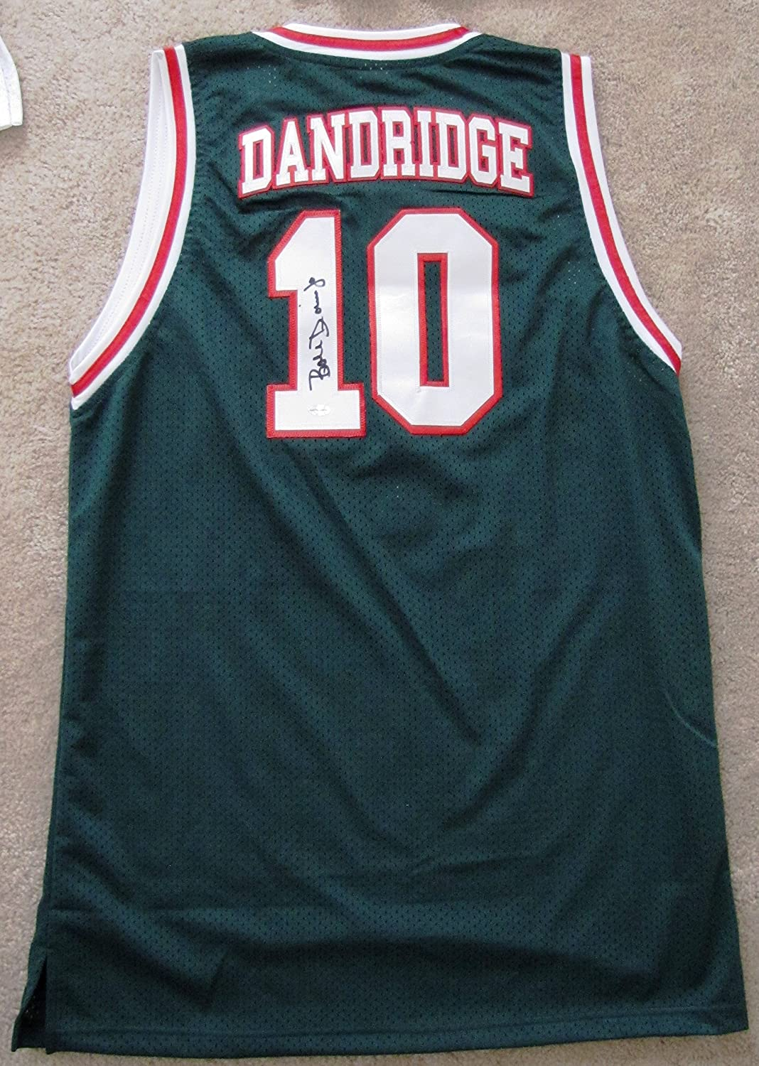 new Bob Dandridge Autographed Jersey Milwaukee Bucks NBA Champ