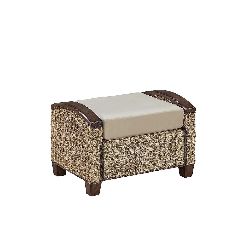 Amazon.com: Home Styles 5405-92K Cabana Banana III Ottoman, Honey ...