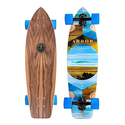 Fireball x Arbor Longboard Cruiser Downhill Skateboards - Various Models - Deck & Completes : Sports & Outdoors