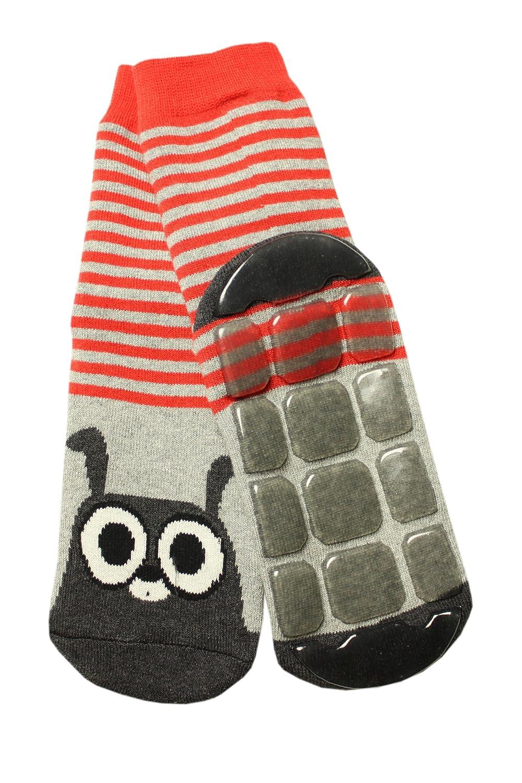 Weri Spezials Baby-Unisex Terry ABS Rabbit Slippers Anti Non Slip Socks