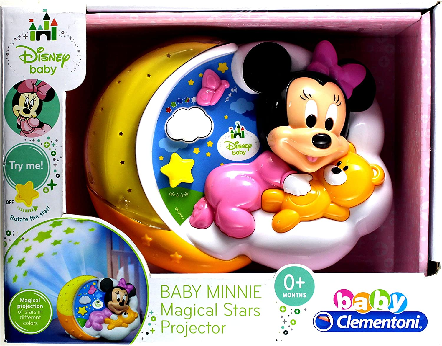 Baby Clementoni - Disney Baby - Proyector Minnie Magical Stars ...