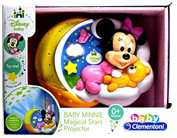 Baby Clementoni - Disney Baby - Proyector Minnie Magical ...