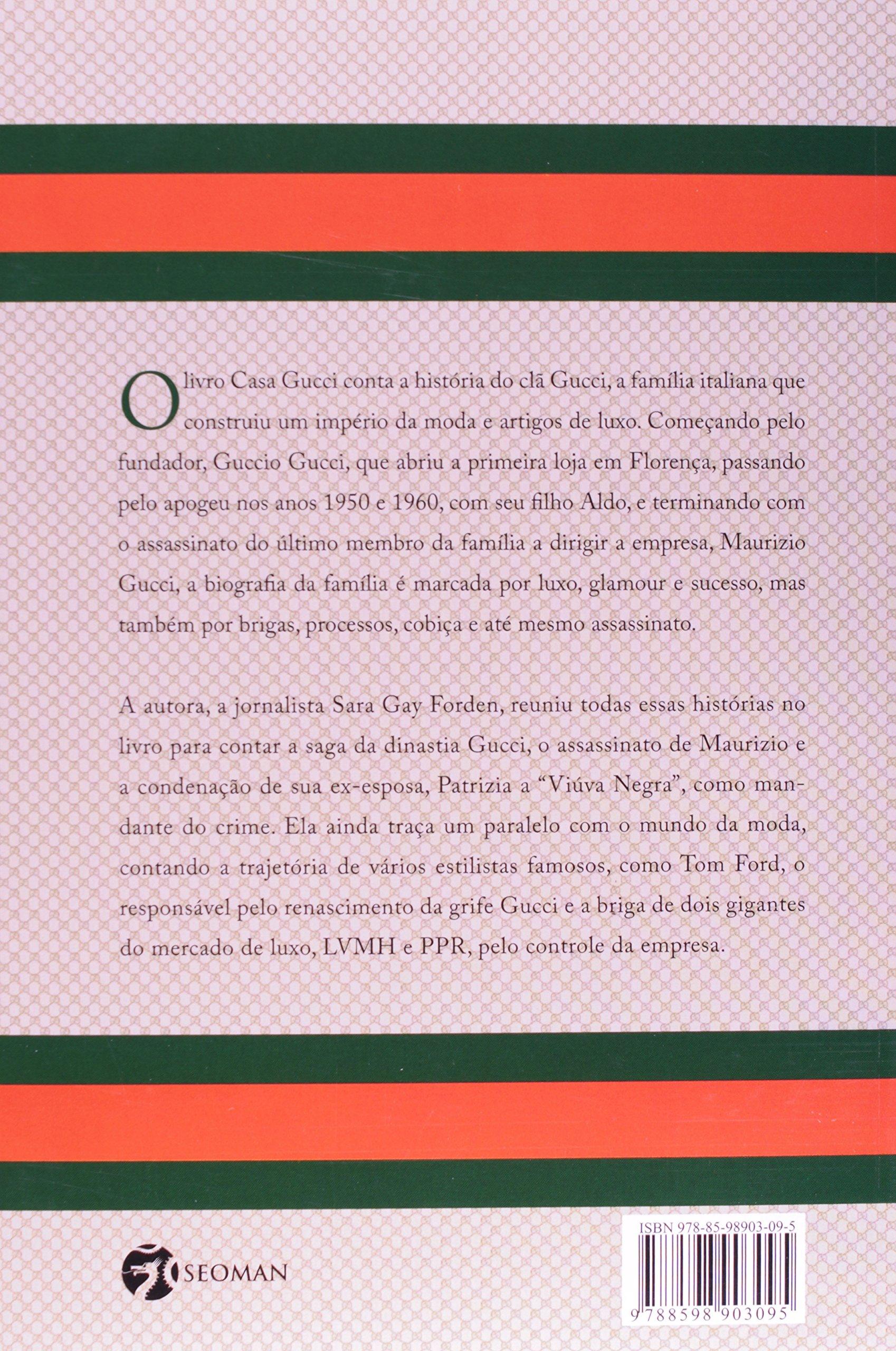 2180241ed Casa Gucci: Uma História de Glamour, Cobiça, Loucura e Morte -  9788598903095 - Livros na Amazon Brasil