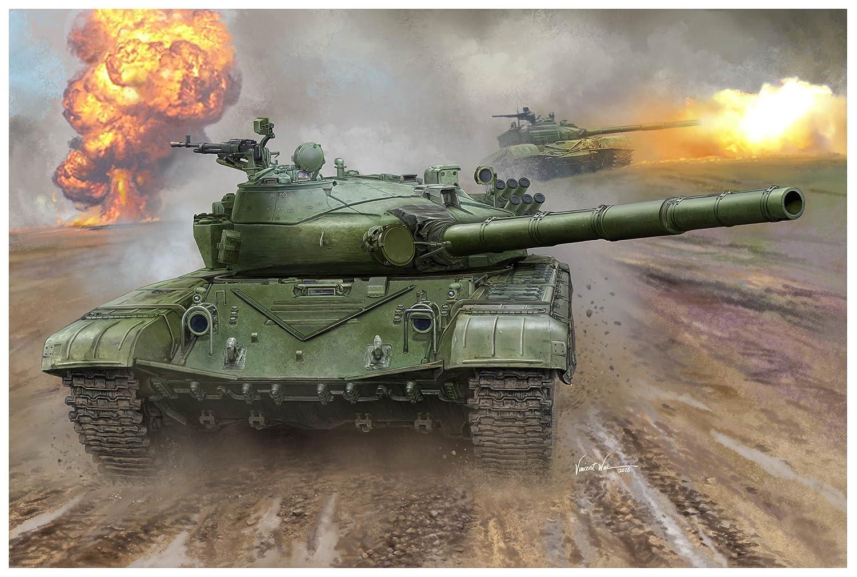 トランペッター 1/16 ソビエト軍 T-72B 主力戦車 プラモデル 00924 B06WRQVPP8