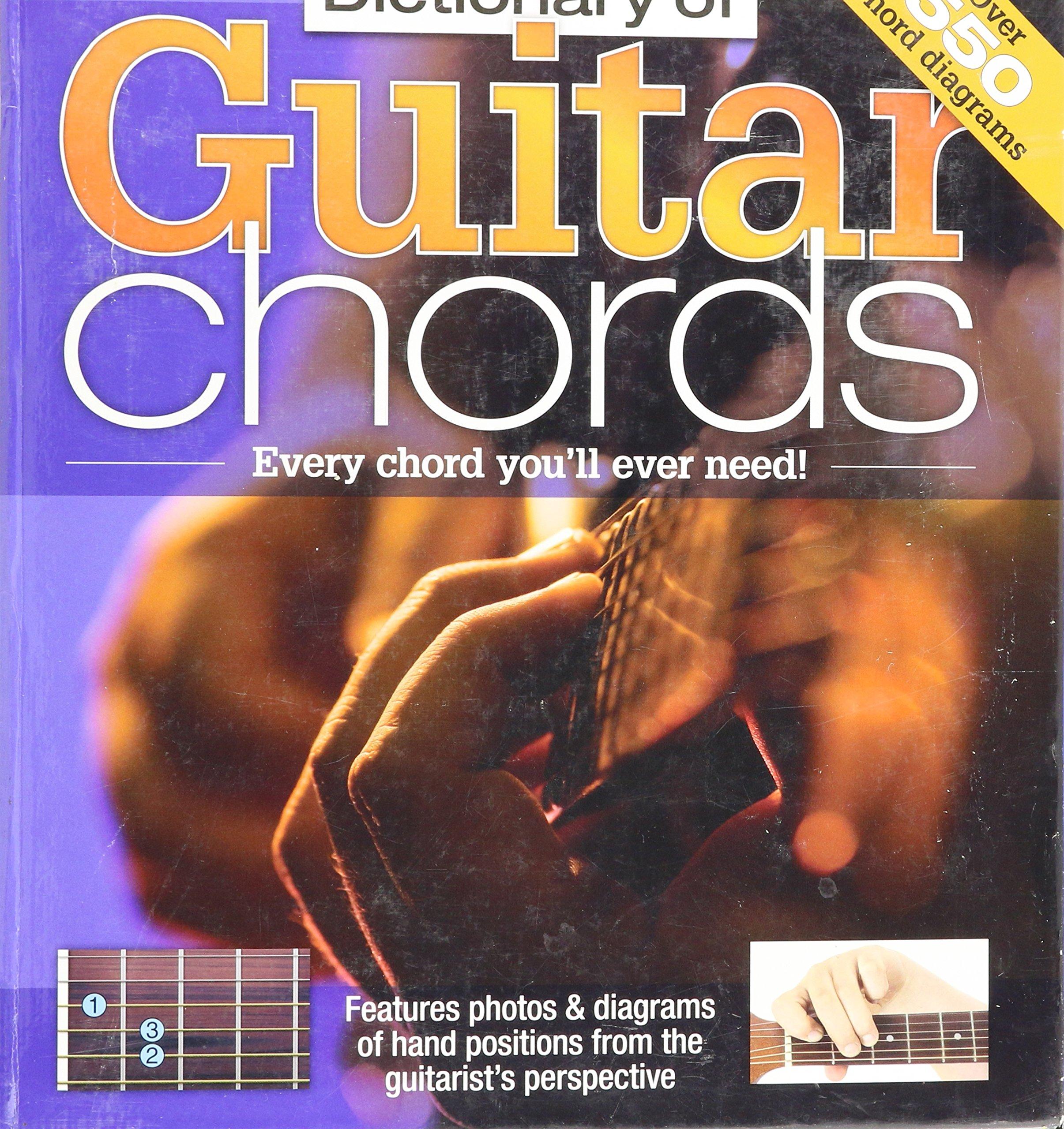 Dictionary of Guitar Chords: 9781741857405: Amazon com: Books