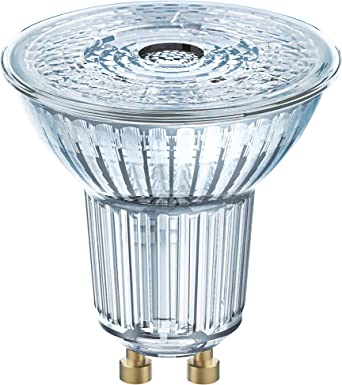 Osram Superstar Bombilla LED, GU10, 8 Watts, Blanco, 1 Unidad ...