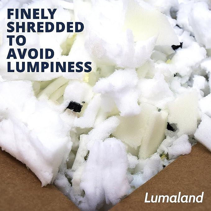Lumaland triturada de espuma con efecto memoria | relleno de ...