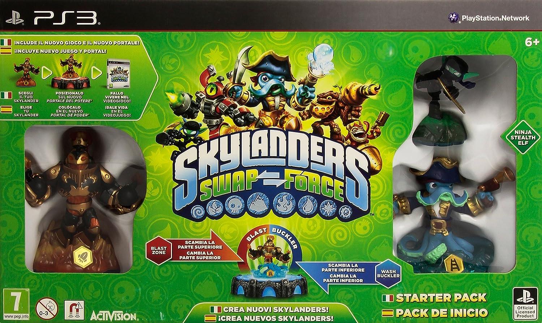 Skylanders: Swap Force - Starter Pack: Amazon.es: Videojuegos