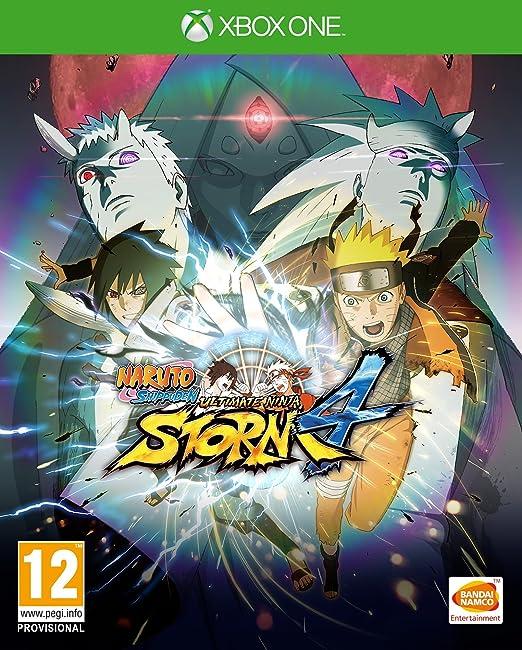 Amazon.com: Naruto Shippuden: Ultimate Ninja Storm 4 (PS4 ...