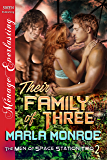 Their Family of Three [The Men of Space Station Two 2] (Siren Publishing Menage Everlasting)