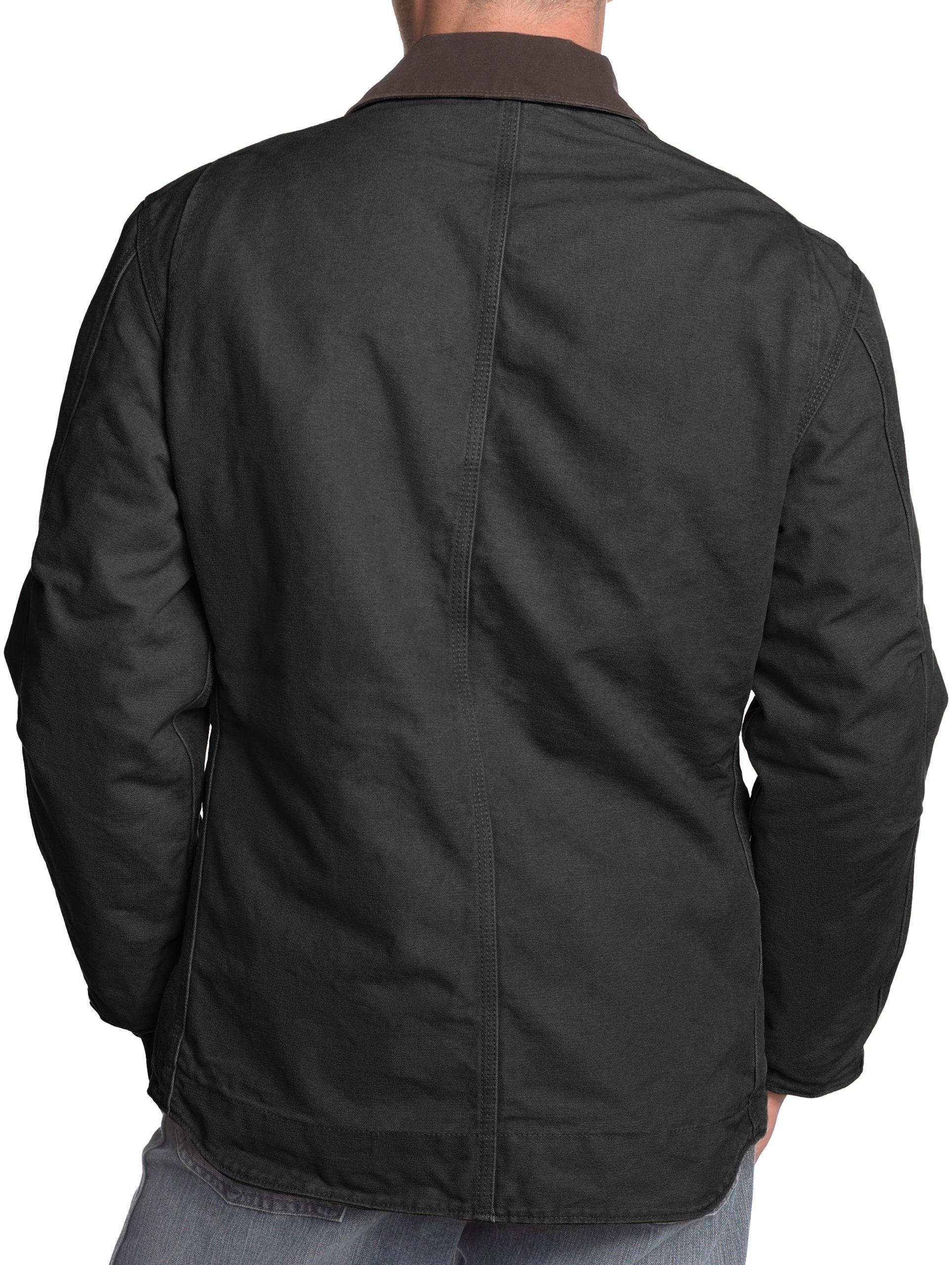 Carhartt Men's Ridge Coat Sherpa Lined Sandstone,Black,X-Large by Carhartt (Image #2)