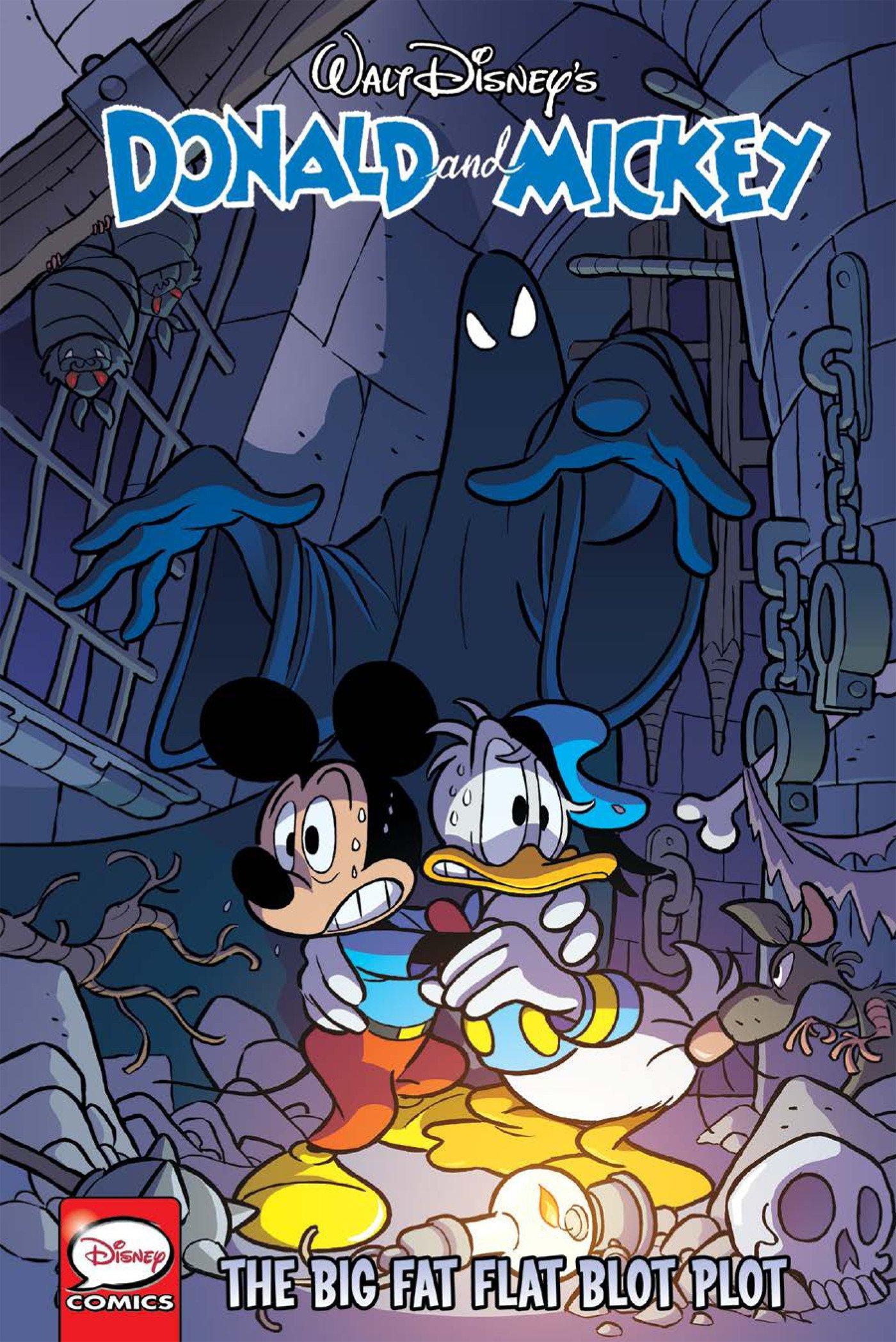 Download Donald and Mickey: The Big Fat Flat Blot Plot (Walt Disney's Donald and Mickey) pdf